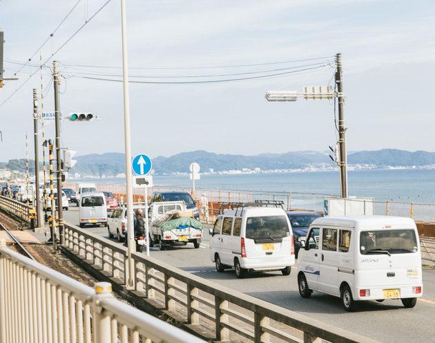 海沿い道路
