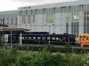 いさりび鉄道と木古内駅
